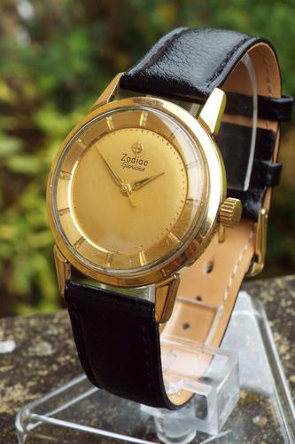 Gents 1950s Zodiac Glorious Wrist Watch (1 of 1)