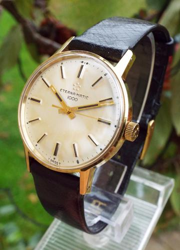 Gents Eterna-Matic 1000 Wrist Watch, 1968 (1 of 1)