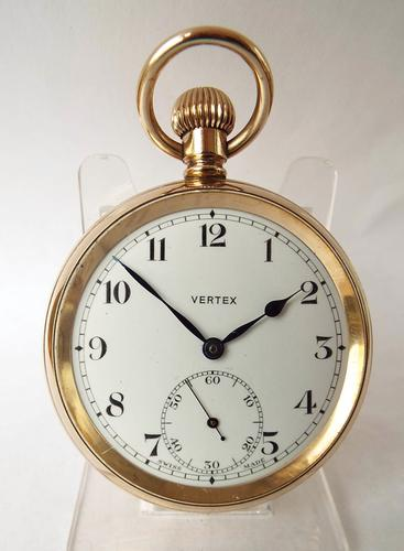 Vintage 1930s Vertex Pocket Watch (1 of 1)