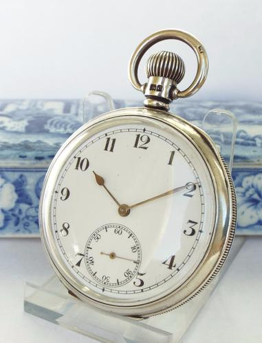Limit Silver Pocket Watch, 1927 (1 of 1)