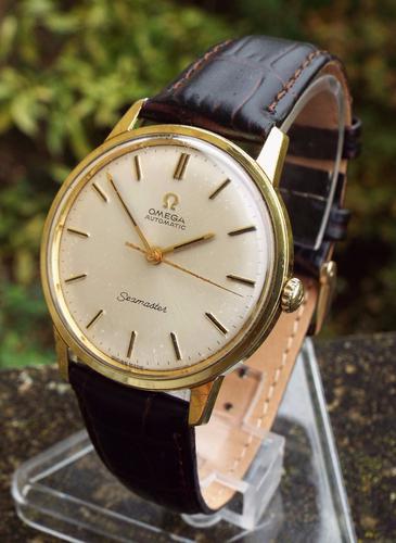 Gents Omega Seamaster Wrist Watch, 1966 (1 of 1)