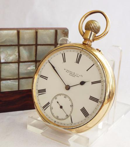 Antique Pocket Watch from H White & Co, London (1 of 1)