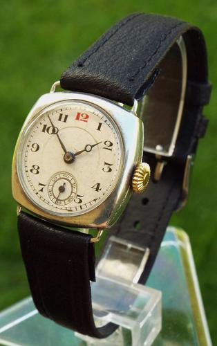 Silver Mid-Size Wrist Watch, 1930 (1 of 1)