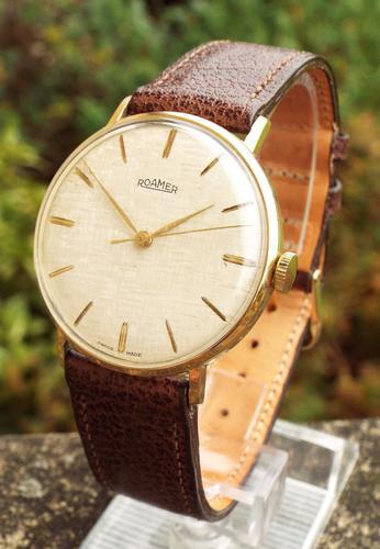 Gents 1960s Roamer Wrist Watch (1 of 1)