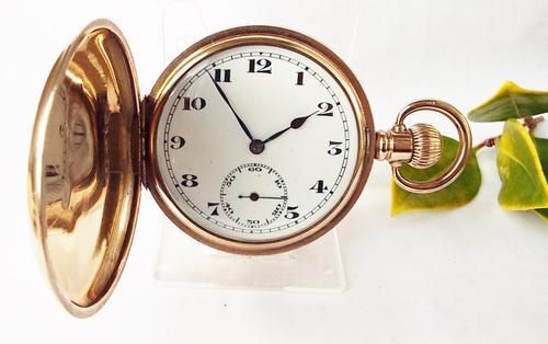 1920s Craven Full Hunter Pocket Watch (1 of 1)