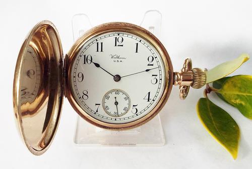 Antique 1902 Waltham Full Hunter Pocket Watch (1 of 1)