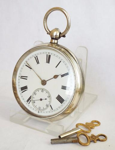 Antique Coventry Silver Pocket Watch, 1901 (1 of 1)