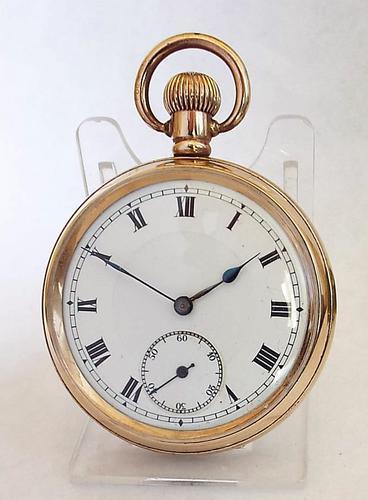 1920s Swiss Stem Winding Pocket Watch (1 of 1)