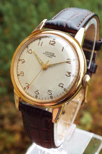 Gents 1950s Orator Automatic Perpetua Wristwatch (1 of 1)