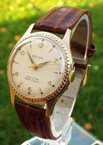 Gents 1950s Rega Wrist Watch (1 of 1)