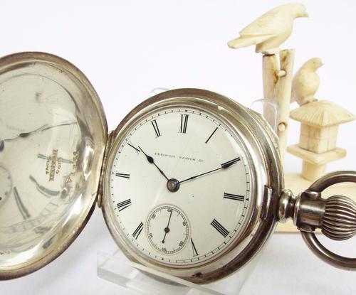 1884 Illinois Watch Co Full Hunter Pocket Watch (1 of 1)