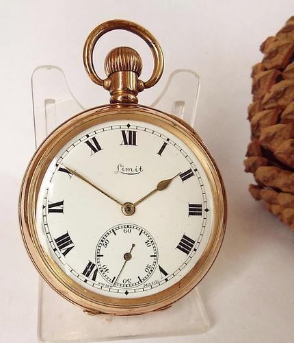 1930s Limit Stem Winding Pocket Watch (1 of 1)