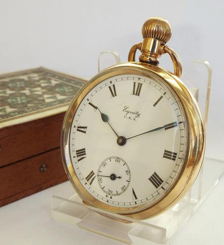1917 Equity Pocket Watch by Waltham (1 of 1)