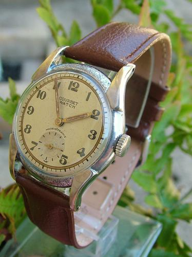 Gents 1950s Courbet Wrist Watch, Made in France (1 of 1)