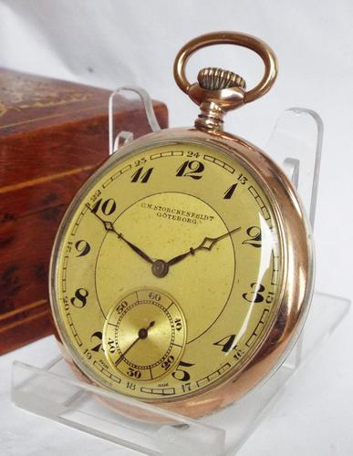 Early 20th Century Galonne Cased Pocket Watch (1 of 1)