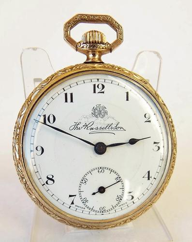 1930s Thomas Russell Pocket Watch (1 of 1)