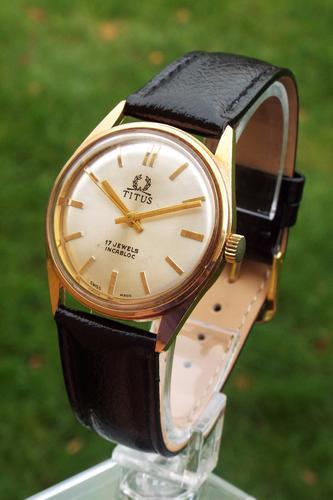 Gents 1960s Titus Wrist Watch by Solvil Et Titus (1 of 1)