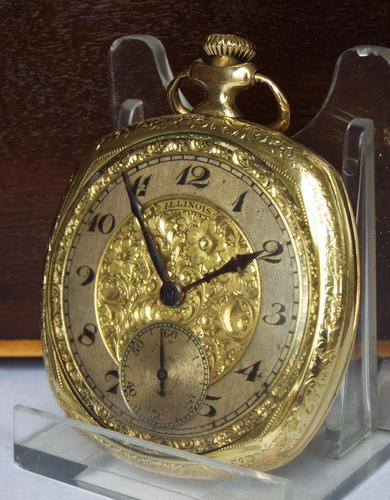 1920 Elite Pocket Watch From the Illinois Watch Company (1 of 1)
