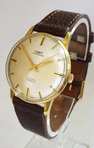 Gents 1970s Limit Wrist Watch (1 of 1)