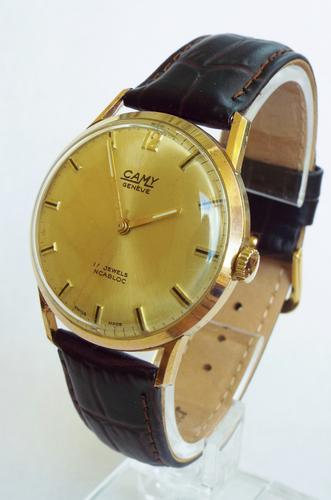 Gents 1970s CamyGenève Wrist Watch (1 of 1)