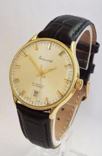 Gents 1960s Accurist Automatic Wrist Watch (1 of 1)