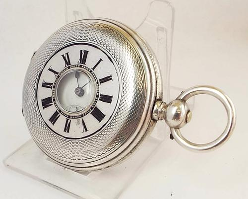 Antique Half Hunter Pocket Watch (1 of 1)