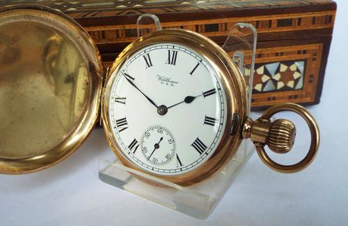 1924 Waltham Full Hunter Pocket Watch (1 of 1)