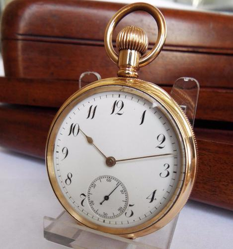 Waltham P S Bartlett Grade Pocket Watch, 1906 (1 of 1)