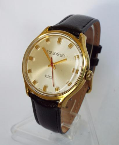Gents Early 1970s Chronomaster Wrist Watch (1 of 1)