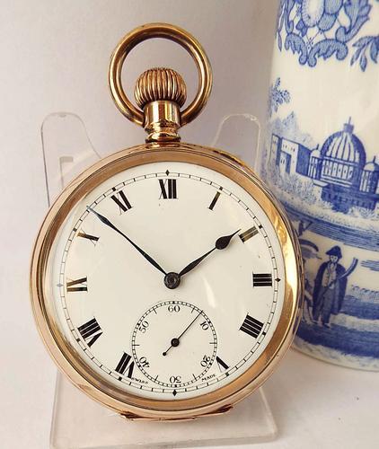 1930s Herald Pocket Watch by Revue Thommen (1 of 5)