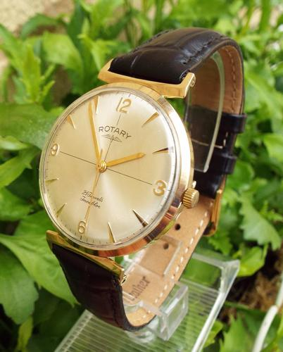 Gents 1963 9ct Gold Rotary Wrist Watch (1 of 1)