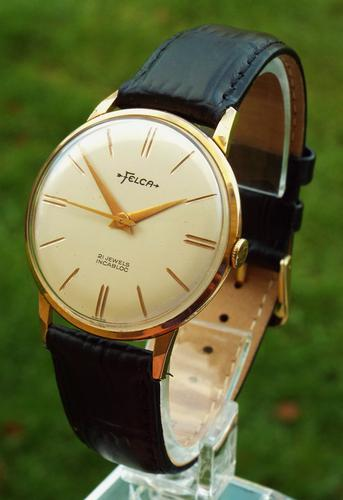 Gents Late 1950s Felca Wrist Watch (1 of 1)