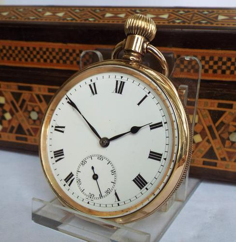 1910s Gold Filled Pocket Watch (1 of 1)