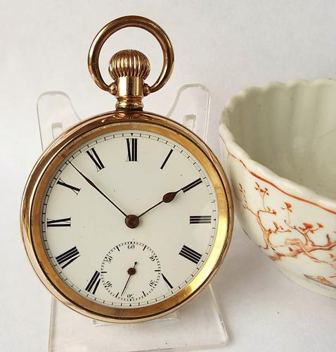 1920s English Lever Stem Winding Pocket Watch (1 of 1)