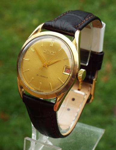 Gents 1950s Camy Wrist Watch (1 of 1)