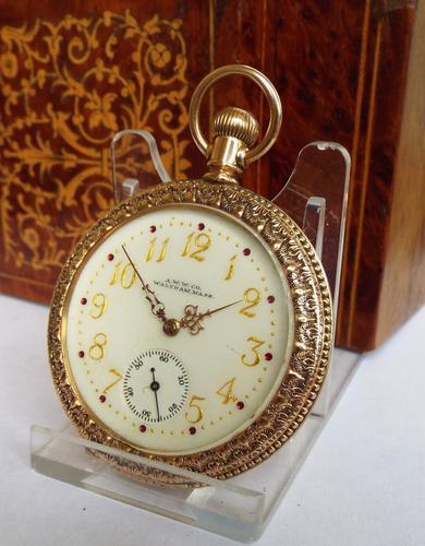 Rare Antique Waltham Pocket Watch, 1897 (1 of 1)