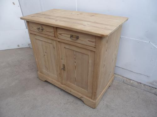Mint Clean Late Victorian Antique Old Pine Dresser Base to wax / paint (1 of 1)