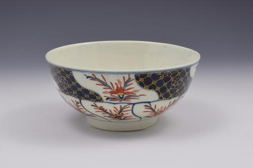First Period Worcester Porcelain Imari Slop Bowl C.1775 (1 of 10)