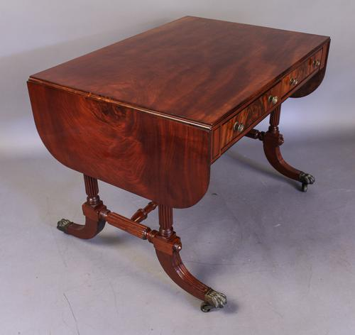 Regency Period Sofa Table in Mahogany (1 of 1)
