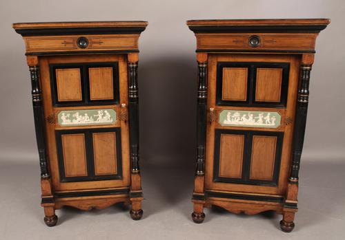 Pair of Pedestals Aesthetic Movement C.1880 (1 of 1)
