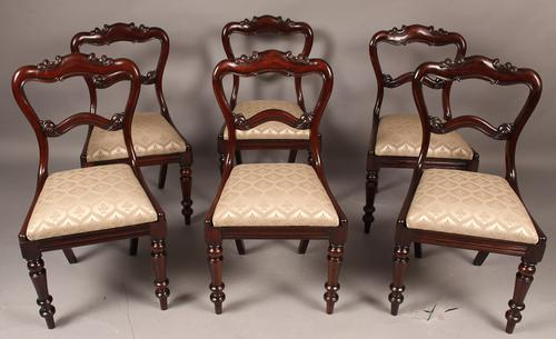 Good Set of  Six Early Victorian Dining Chairs (1 of 1)