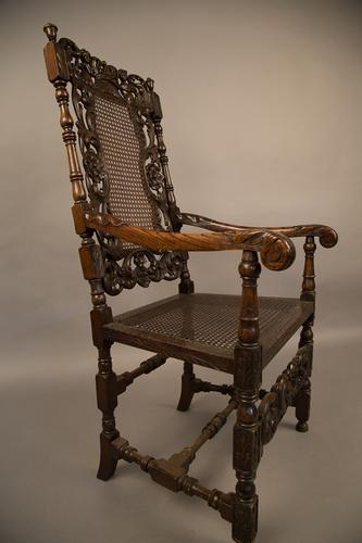 Armchair in the Carolean Style c.1880 (1 of 1)