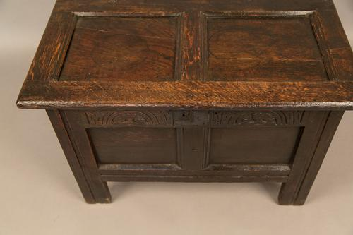 Small Size 17th Century Coffer (1 of 1)