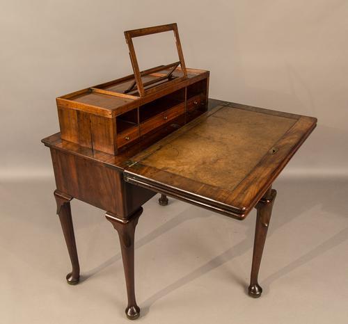 Rare George II Metamorphic Writing Desk Mahogany c.1740 (1 of 1)