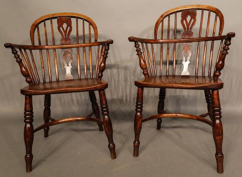 Matching Pair of Windsor Chairs by Fred Walker (1 of 1)