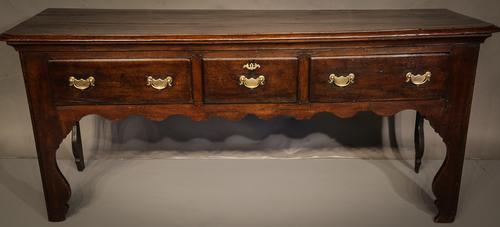 Georgian Silhouette Leg Dresser C.1740 (1 of 1)
