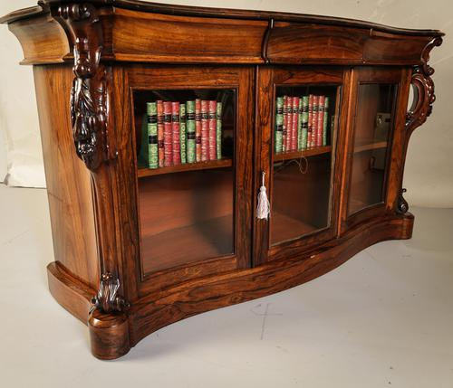 Victorian Rosewood Credenza (1 of 1)