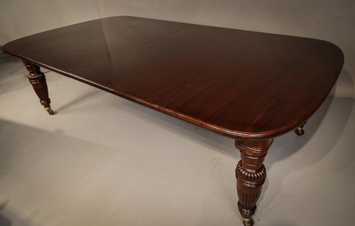 Good Quality Victorian Wind Out Extending Dining Table (1 of 1)