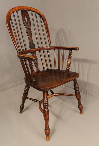 Ash & Elm High Windsor Chair Nottingham Maker (1 of 1)