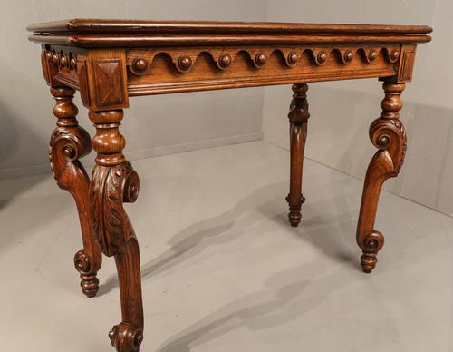 Superb Victorian Games Table Pollard Oak (1 of 1)